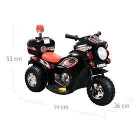 Mini Moto Elétrica Infantil Bz Cycle Barzi Motors - Preto