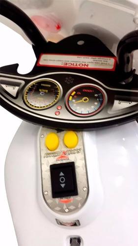 mini moto elétrica infantil triciclo criança bateria bivolt
