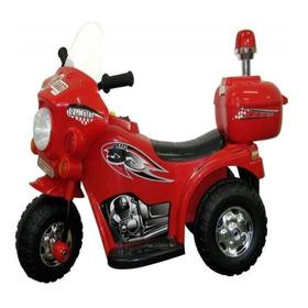 Mini Moto Elétrica Infantil Vermelha De 2 A 4 Anos Barzi