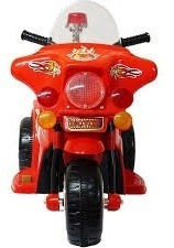 mini moto elétrica triciclo infantil vermelho 6,0v inmetro