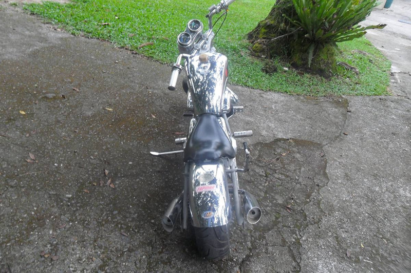 mini moto fapinha chopper 1983