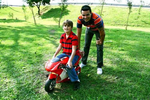mini moto à gasolina bz r3 49cc