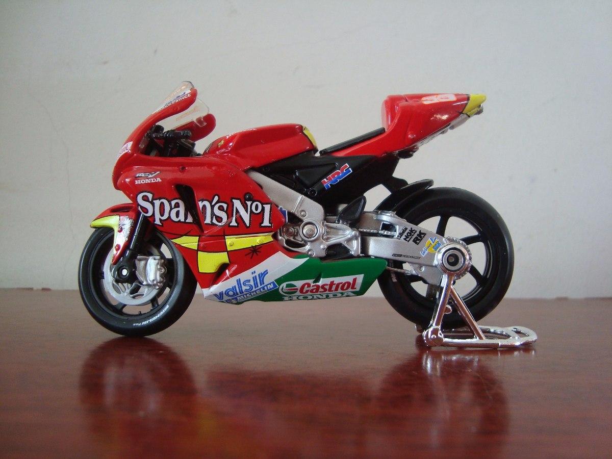 Mini Moto Honda Rcv 211 2006 Do Piloto Marco Melandri - R$ 60,50 em ...