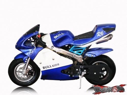 mini moto infantil 49cc 2 tempos