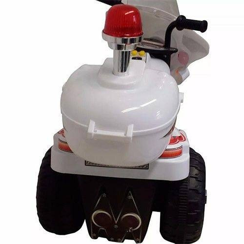 mini moto infantil eletrica policial crianças de 2 a 4 anos