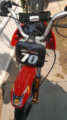 mini moto motovox 70cc