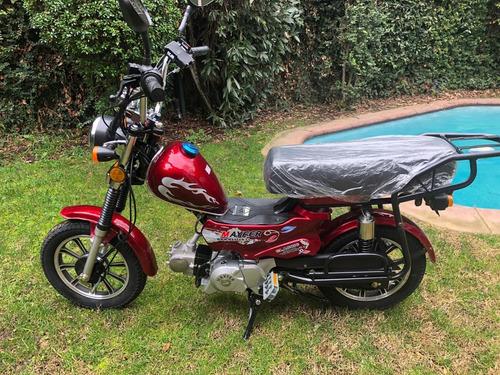 mini moto nueva ideal delivery