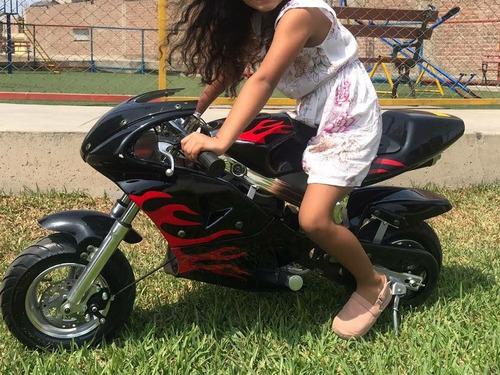 mini moto para niños 50cc