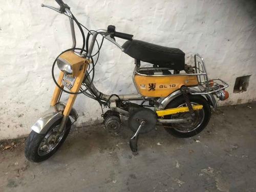 mini moto peugeot gl10 !