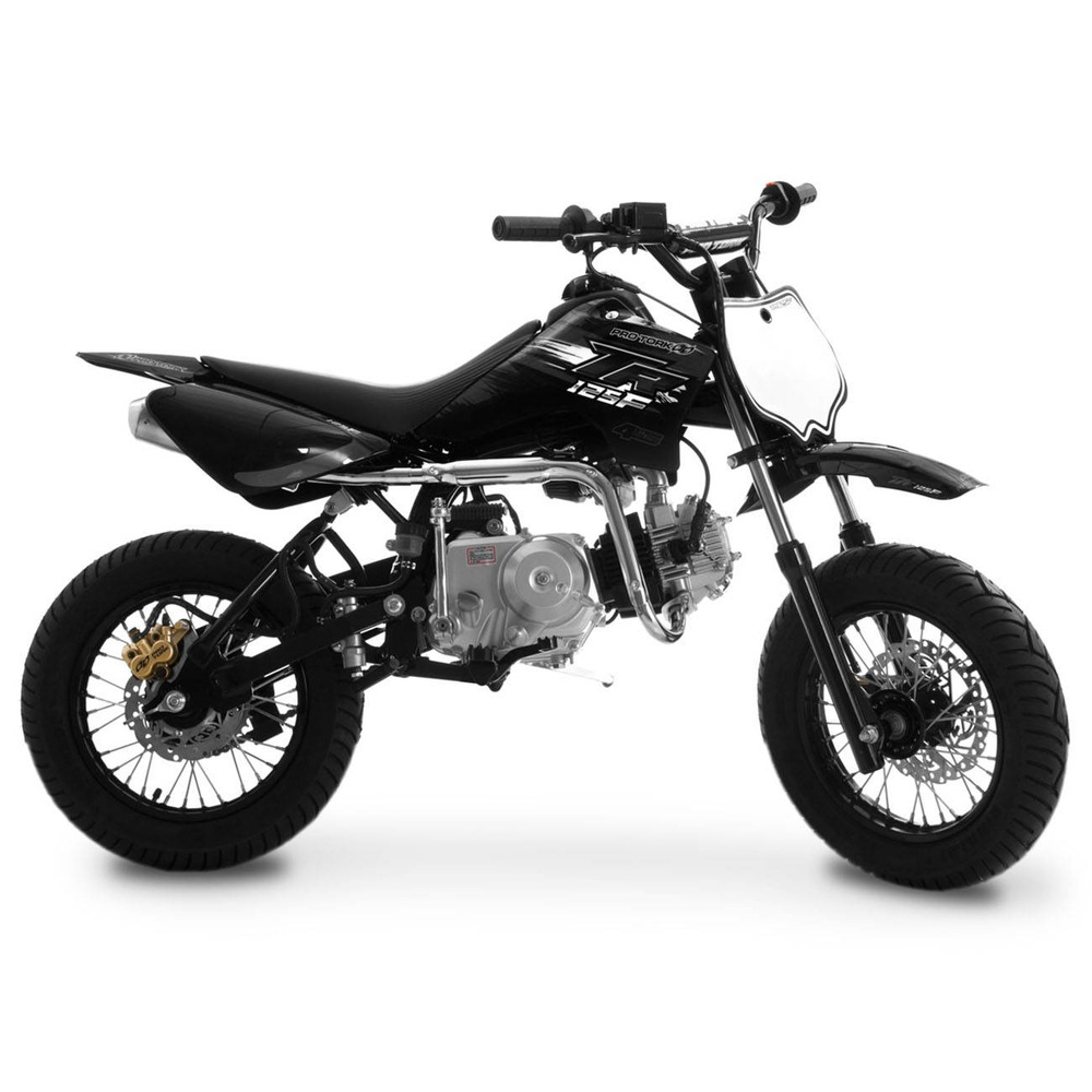 mini moto pro tork tr 125f supermotard 125 aro 12 12 preto r em mercado livre. Black Bedroom Furniture Sets. Home Design Ideas