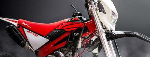 mini moto raptor 125 gasolina automática