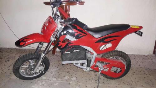 mini moto utech eléctrica para niños