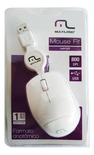 mini mouse fit usb retratil multilaser mo155 800 dpi