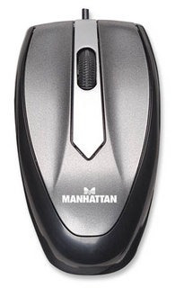mini mouse manhattan optico usb mac + pc compatible (gadrove