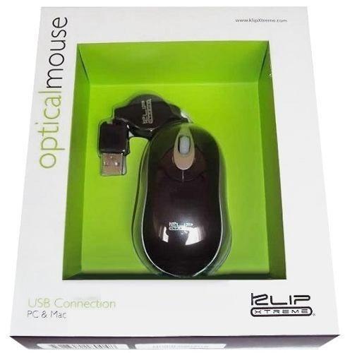 mini mouse optico usb klip kmo-103