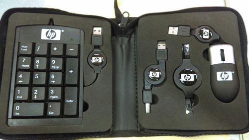 mini mouse optico y teclado numerico
