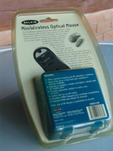 mini mouse ótico belkin