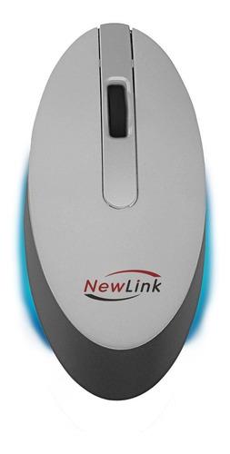 mini mouse sem fio  style mo102 - blue sensor, receptor usb