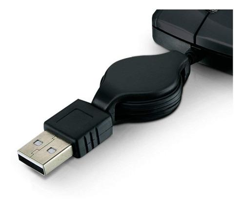 mini mouse usb retrátil multilaser 1200dpi para notebook fio
