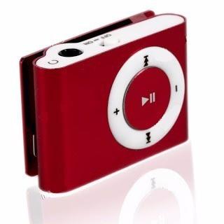 mini mp3 player com fm shuflle clip com entrada para cartão