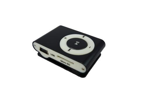 mini mp3 player shuffle clip fm + cabo usb + fone