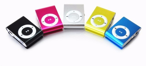 mini mp3 varios colores microsd 8gb + auriculares zonalaptop