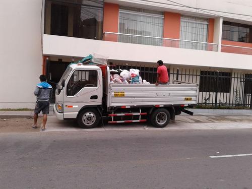 mini mudanzas - taxi carga - eliminacion desmonte aten 24h