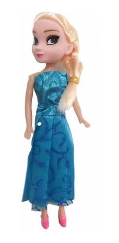 mini muñeca frozen (5 unidades)