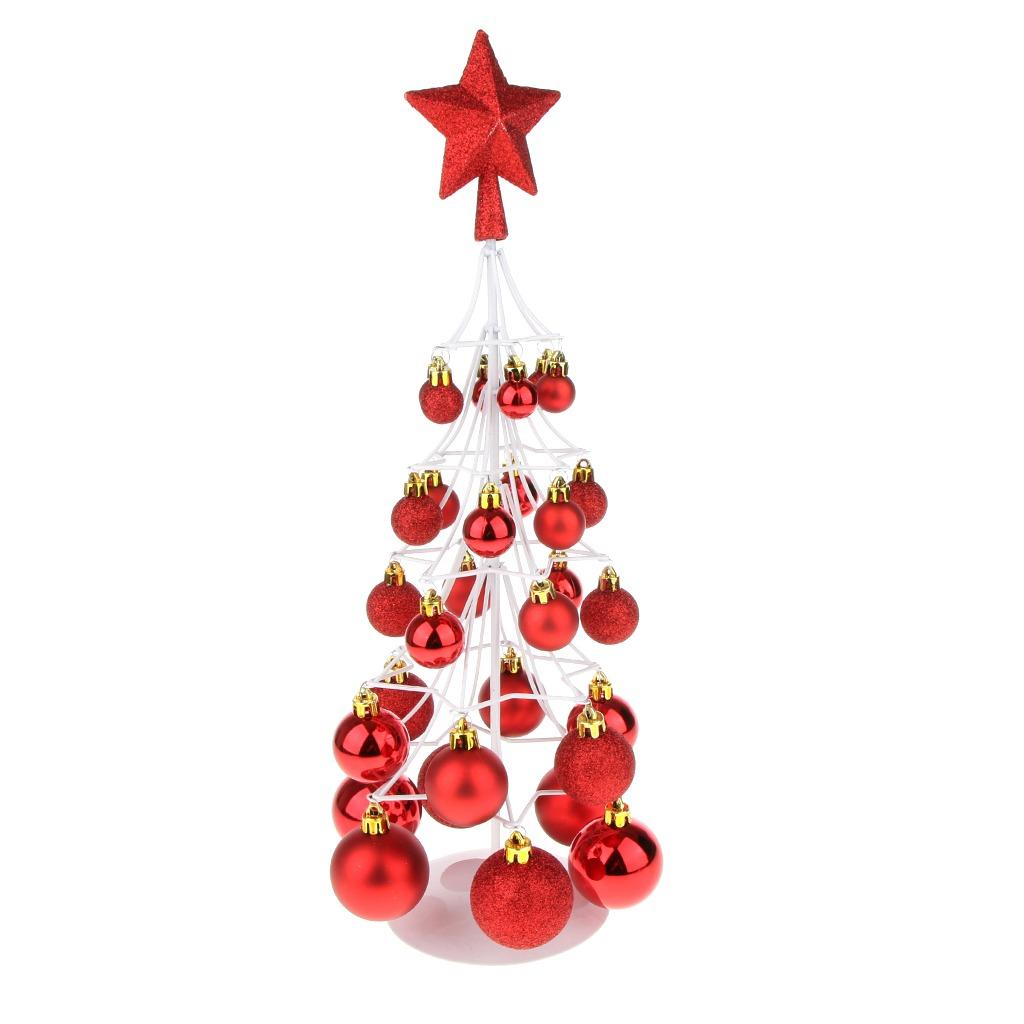 4252423cd12 Mini Navidad De La Chuchería Árbol Bola Navidad Casa Mesa -   900.35 ...