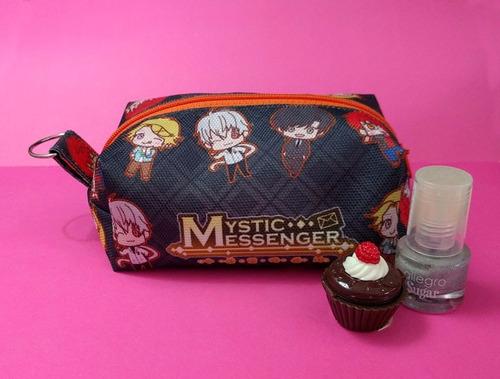 mini neceser mystic messenger porta maquillaje anime