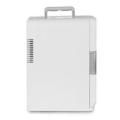 mini nevera portátil y calentador para auto