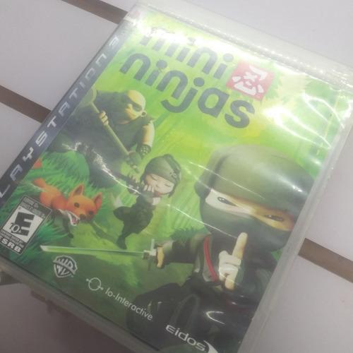 mini ninjas play station 3 de uso
