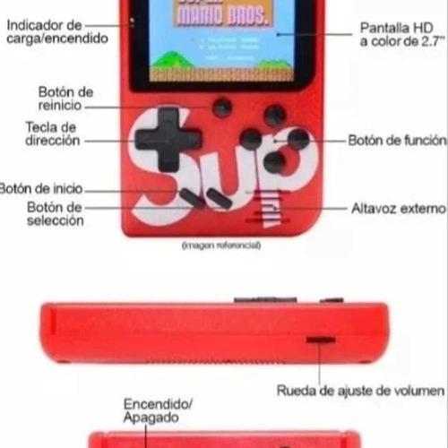 mini nintendo sup( 18v) mini consola 400 juegos