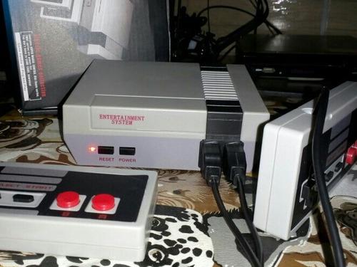 mini nintendo vídeo game 620 jogos clássicos retrô 8 bits