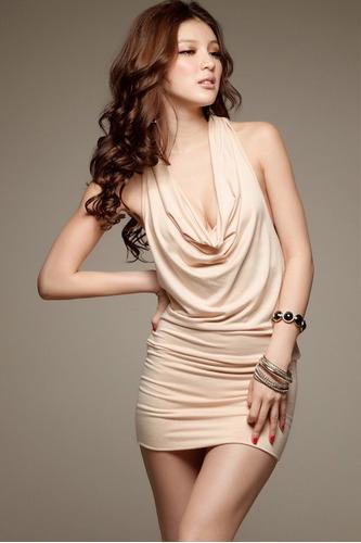 mini noche vestidos