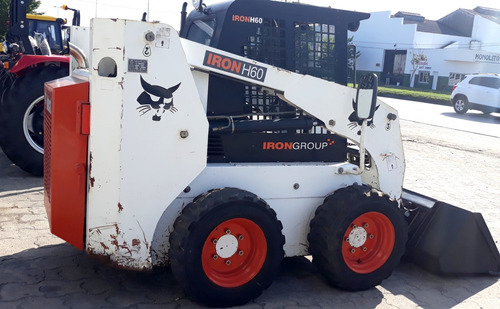 mini pala cargadora bobcat iron h60