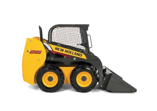 mini pala cargadora new holland l215 financiada 36 meses
