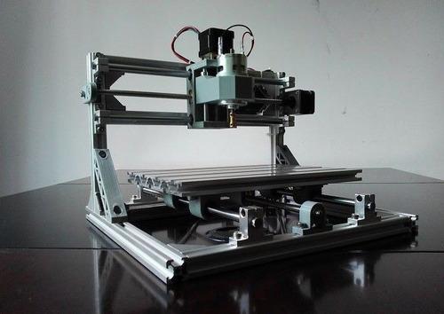 mini pantógrafo fresador 3d con opcion láser grabado corte
