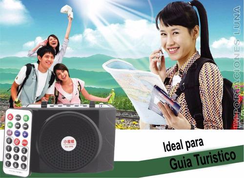 mini parlante amplificador altavoz para profesores san borja