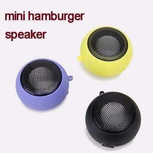 mini parlante hamburguesa usb portátil altavoz galaxy 4g lte