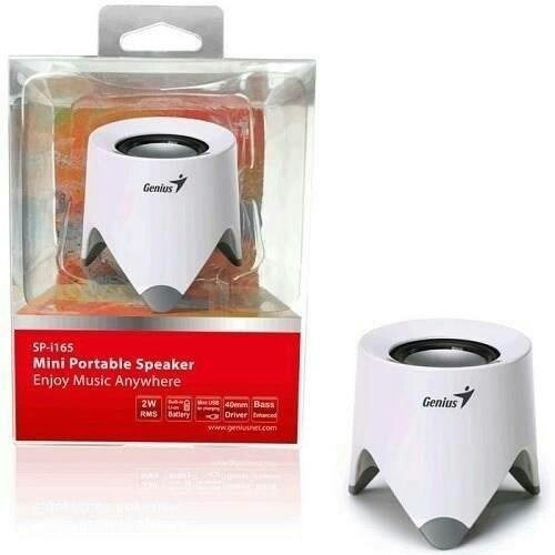 mini parlante portable genius usb sp-i165 laptop y celular