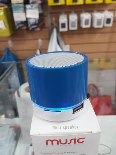 mini parlante portatil bluetooth apto logo regalo secretaria