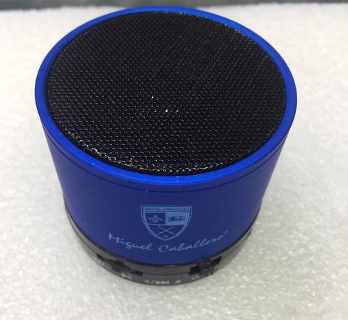 mini parlante speaker music practico color azul