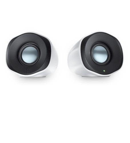 mini parlantes logitech stereo z110