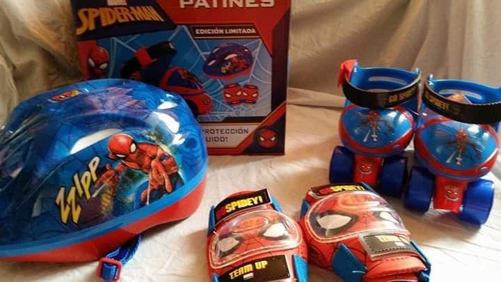 73b83089f Mini Patines Frozen Minnie Spiderman Disney - S/ 129,00 en Mercado Libre