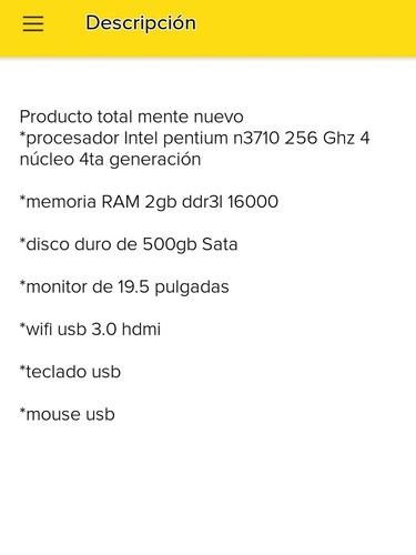 mini pc 2100 nuevas