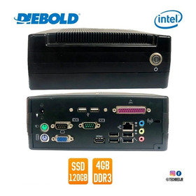 Mini Pc Diebold Intel Celeron Dual - 1.1ghz, 4gb Ssd 120gb