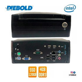Mini Pc Diebold Intel Celeron Dual - 1.8ghz, 4gb Ssd 120gb