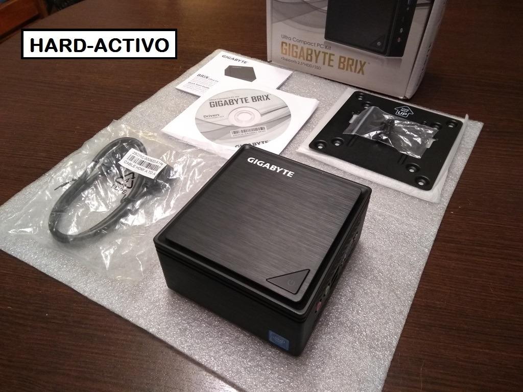 Mini Pc Gigabyte Brix 8gb Ram 1tb Intel Wifi J3455 Hdmi Box