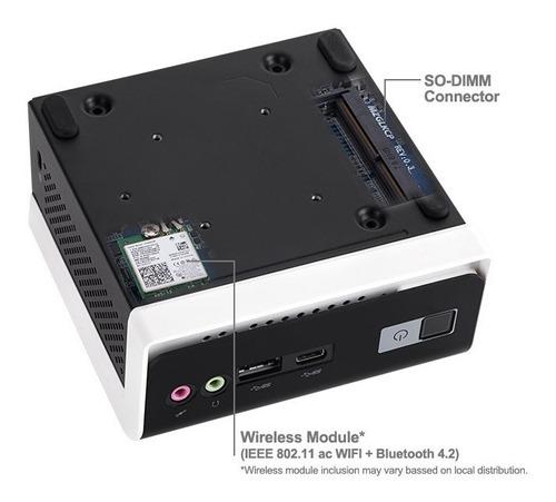 mini pc gigabyte brix intel 2 nucleos ram 8gb ssd 240gb w10